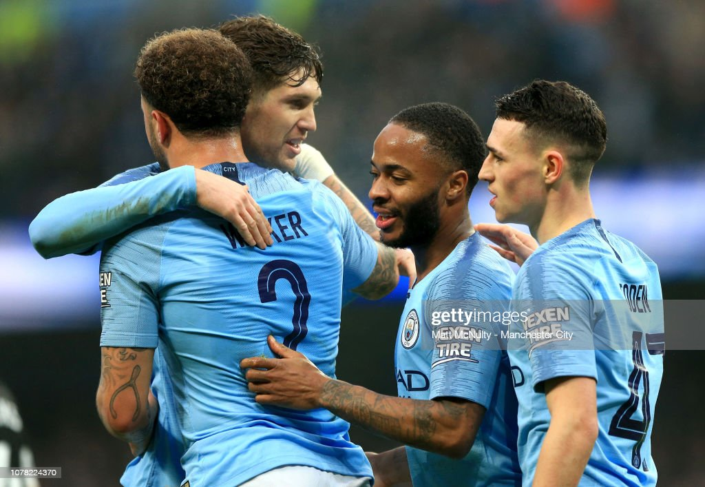 Manchester City v Rotherham United - The Emirates FA Cup Third Round : News Photo