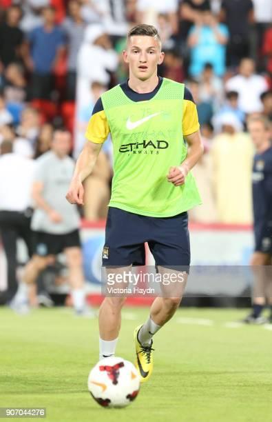 Manchester City Post Season Tour Day Three Abu Dhabi Manchester City's Sinan Bytyqi at open training at Al Jazira Stadium in Abu Dhabi as part of...