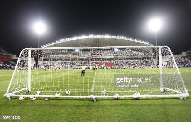 Manchester City Post Season Tour Day Three Abu Dhabi Manchester City's squad at open training at Al Jazira Stadium in Abu Dhabi as part of their post...