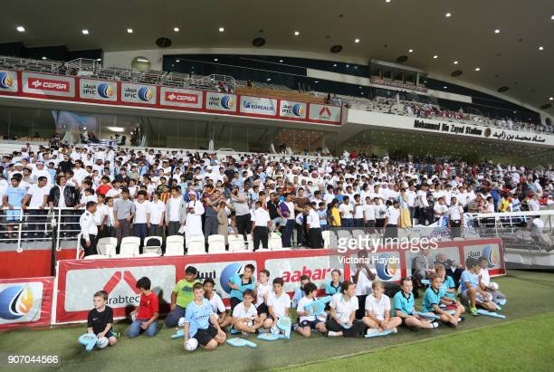 Manchester City Post Season Tour Day Three Abu Dhabi Manchester City's fans at open training at Al Jazira Stadium in Abu Dhabi as part of their post...
