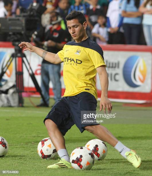 Manchester City Post Season Tour Day Three Abu Dhabi Manchester City's Marcos Lopes at open training at Al Jazira Stadium in Abu Dhabi as part of...