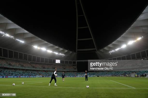 Manchester City Pre Season Tour Nelson Mandela Football Invitational AmaZulu v Manchester City Moses Mabhida Stadium Manchester City goalkeeper Joe...