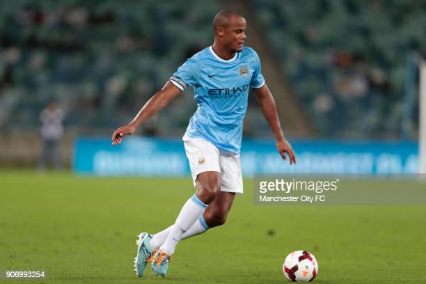 Manchester City Pre Season Tour Nelson Mandela Football Invitational AmaZulu v Manchester City Moses Mabhida Stadium Manchester City's Vincent...