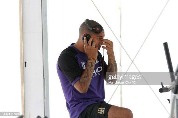 Manchester City Pre Season Training Camp Day Eleven Seefeld Austria Manchester City's Nigel de Jong