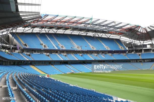 Manchester City Stadium Expansion Etihad Stadium Manchester City's south stand expansion at the Etihad Stadium