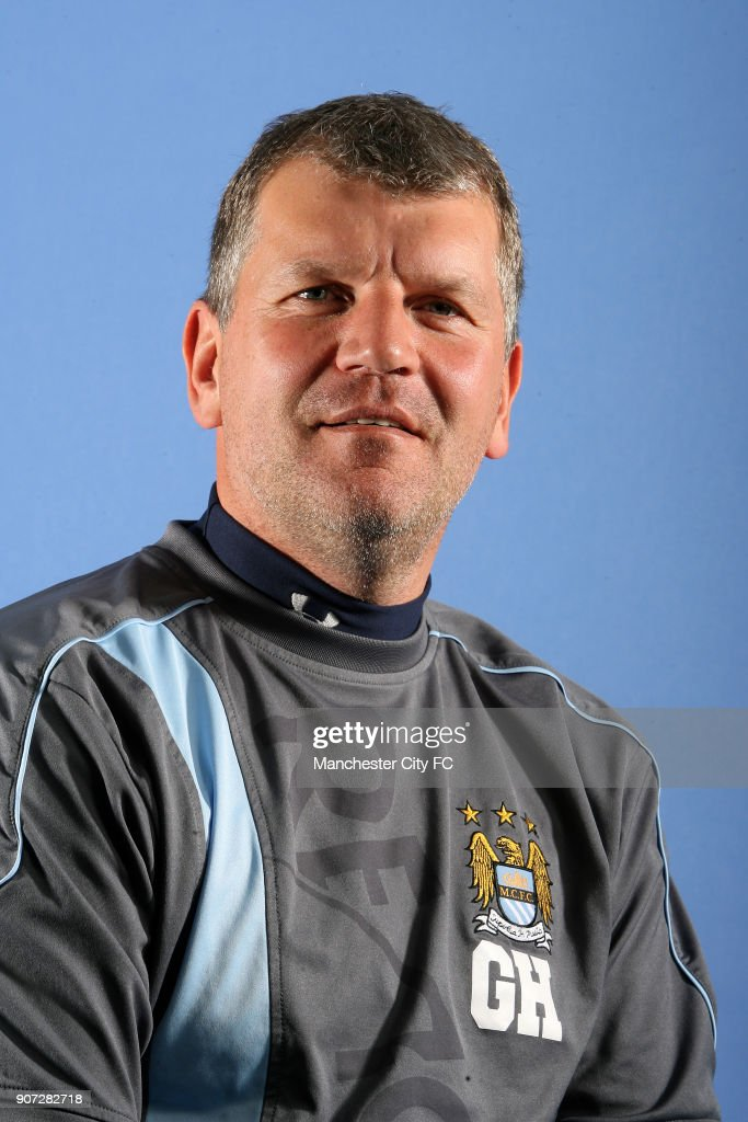 Manchester City Staff Feature, Glyn Hodges, Manchester City's Reserve Team Manager Glyn Hodges