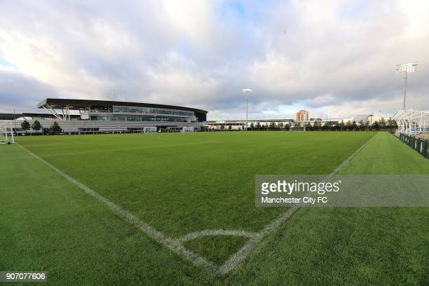 Manchester City The City Football Academy Launch Manchester General view of the Academy Stadium at the Etihad Campus Manchester