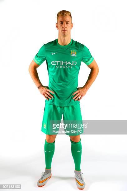 Manchester City Third Kit Photo Shoot Goalkeeper Joe Hart Manchester City