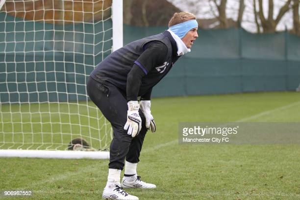 Manchester City Training Carrington Training Ground Manchester City's Joe Hart