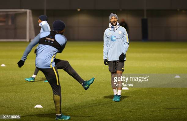 Manchester City Training City Football Academy Manchester City's Gael Clichy in training