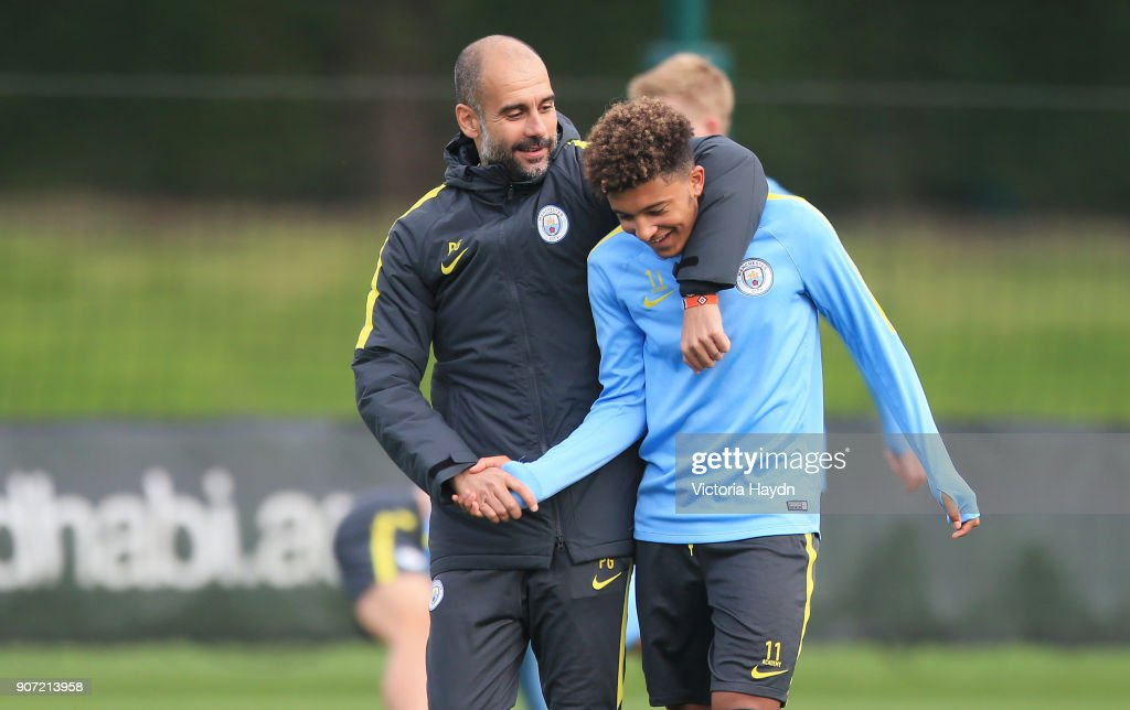 Manchester City Training - City Football Academy : News Photo