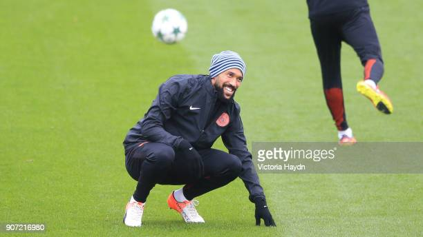 Manchester City Training UEFA Champions League City Football Academy Manchester City's Gael Clichy during training