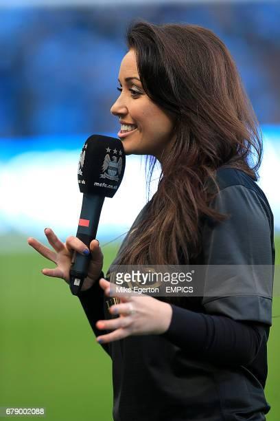 Manchester City TV presenter Natalie Pike