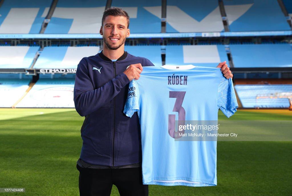 Manchester City Unveil New Signing Ruben Dias : News Photo