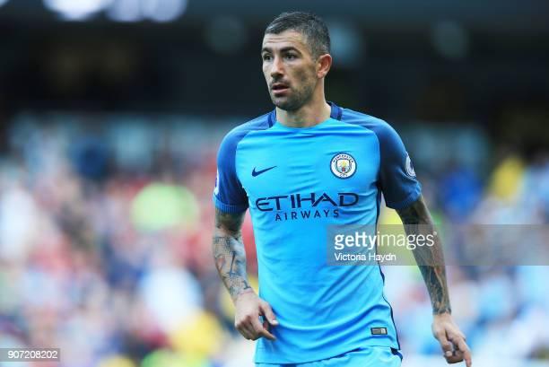 Manchester City v AFC Bournemouth Premier League Etihad Stadium Manchester City's Aleksandar Kolarov in action