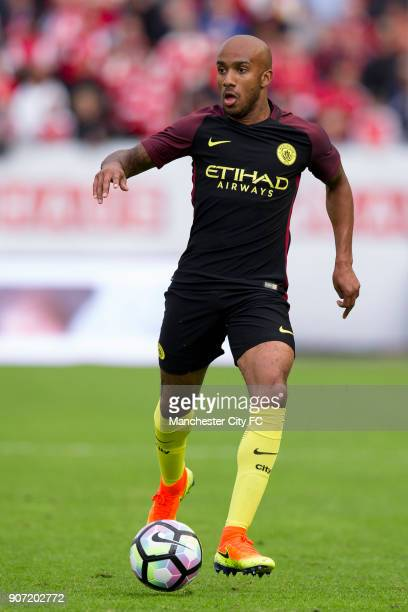 Manchester City v Arsenal PreSeason Friendly Ullevi Stadium Manchester City's Fabian Delph