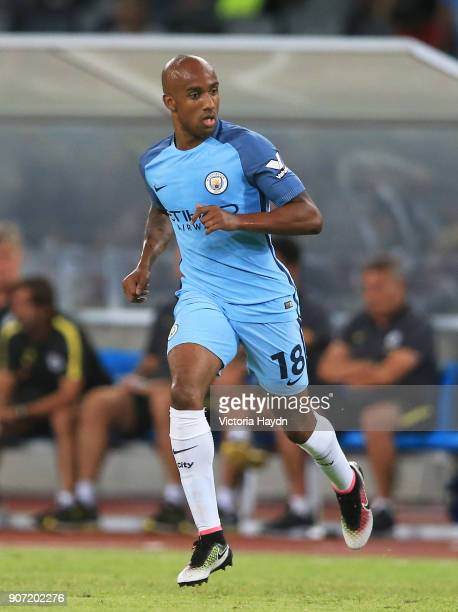 Manchester City v Borussia Dortmund International Champions Cup Longgang Stadium Manchester City's Fabian Delph in action