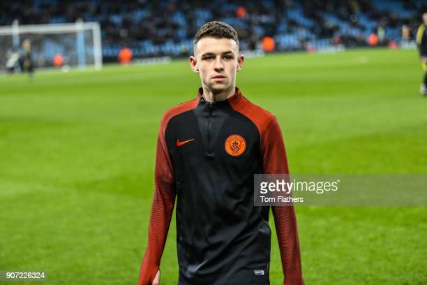 Manchester City v Celtic UEFA Champions League Group C Etihad Stadium Manchester City's Phil Foden ahead of Manchester City's Champions League match...