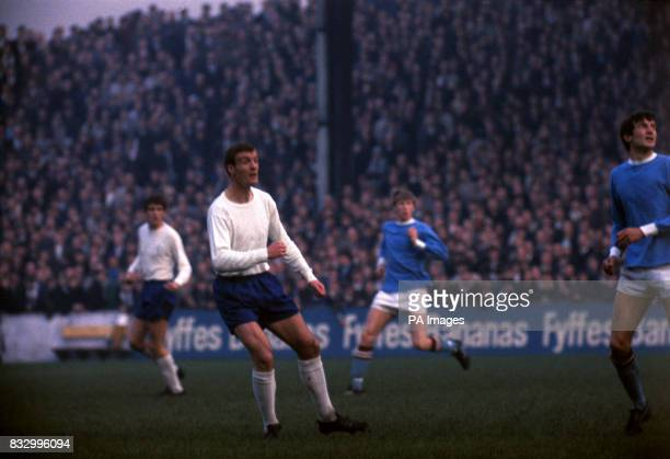 Manchester City v Leeds United at maine Road Manchester Paul Madeley Leeds United
