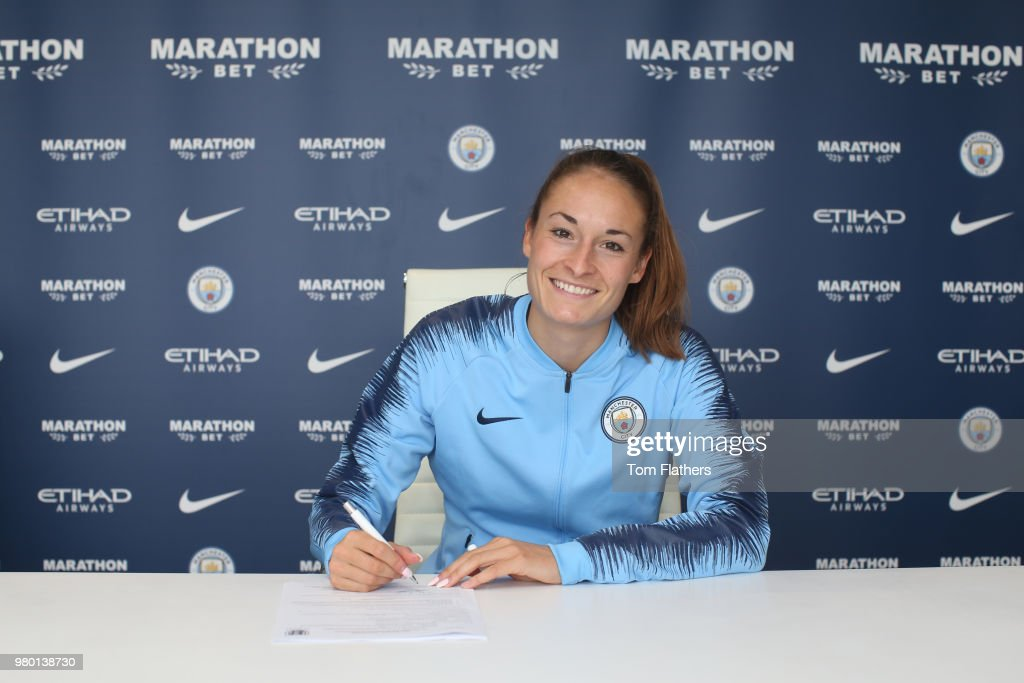 Manchester City Women Unveil New Signing Tessa Wullaert