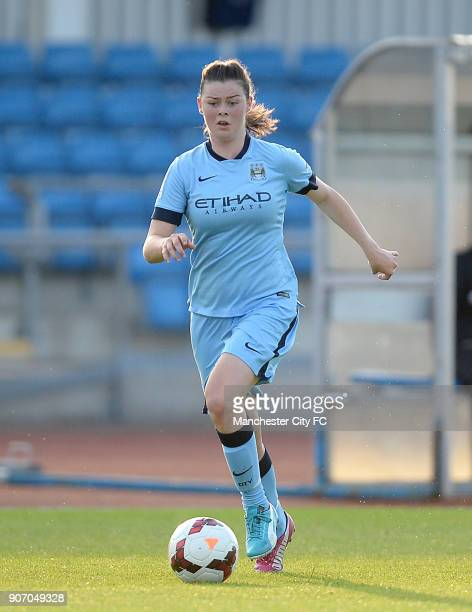 FAWSL Manchester City Women v Notts County Ladies Manchester Regional Arena Natasha Flint Manchester City Women