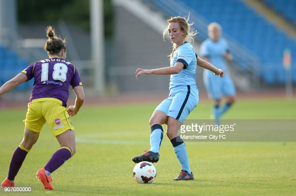 FAWSL Manchester City Women v Notts County Ladies Manchester Regional Arena Toni Duggan Manchester City Women