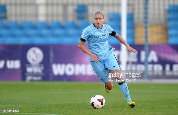 FAWSL Manchester City Women v Notts County Ladies Manchester Regional Arena Steph Houghton Manchester City Women