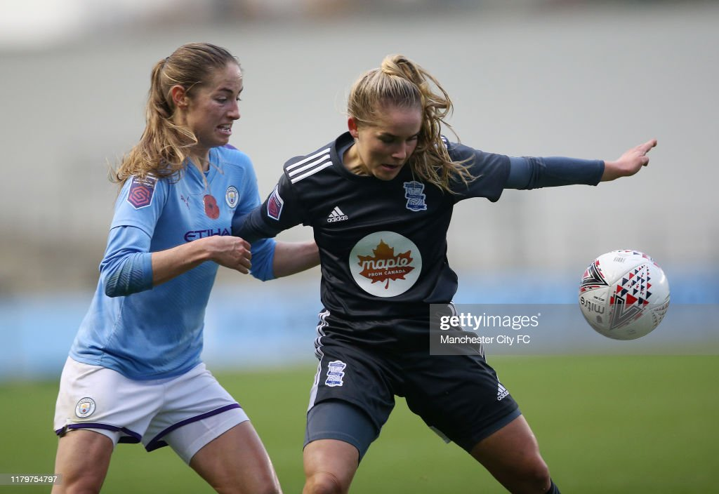 Manchester City Women v Birmingham City Women - FA Women's Continental League Cup : News Photo