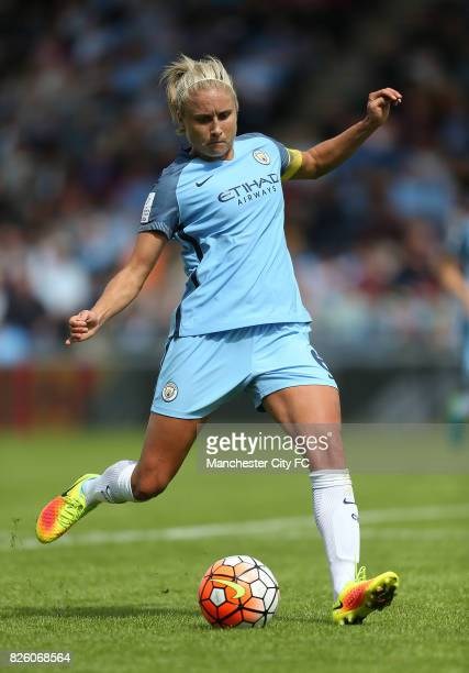 Manchester City Women's Steph Houghton during the game againsy Sunderland Ladies