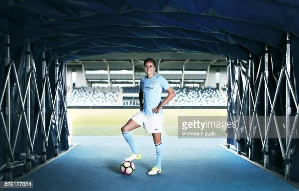 Manchester City Women's Steph Houghton signs a extension on her contract