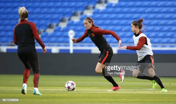 Manchester City Women's Training City Football Academy Manchester City's Jill Scott in training