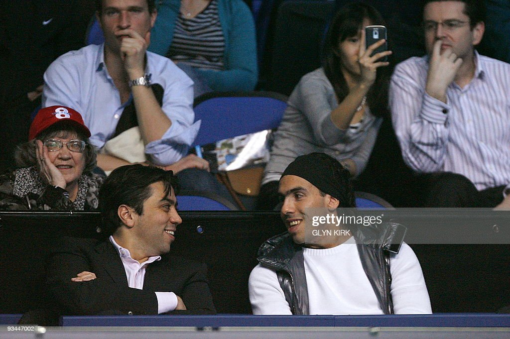 Manchester City's Argentinian footballer : News Photo