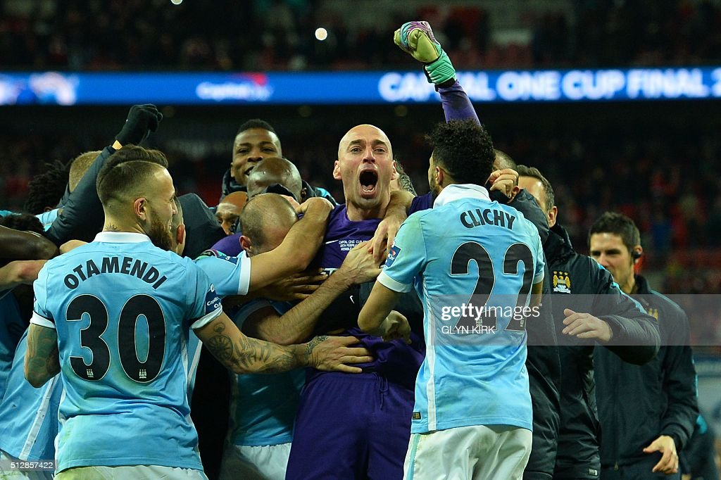 FBL-ENG-LCUP-LIVERPOOL-MAN CITY : News Photo