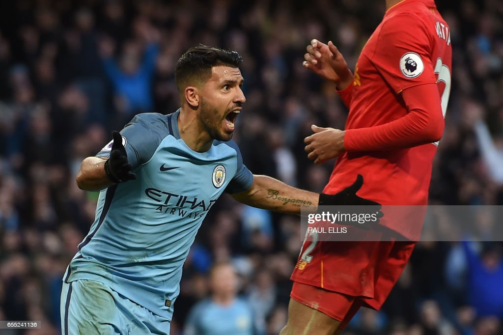 FBL-ENG-PR-MAN CITY-LIVERPOOL : News Photo