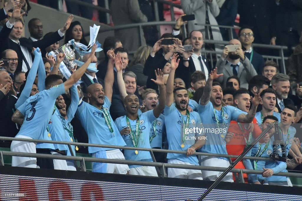FBL-ENG-LCUP-MAN CITY-CHELSEA : News Photo