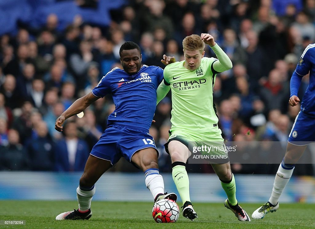 FBL-ENG-PR-CHELSEA-MAN CITY : News Photo