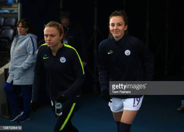 Manchester City's Caroline Weir looks on before the WSL 1 match between Manchester City Women and Chelsea Women at Manchester City Football Academy...