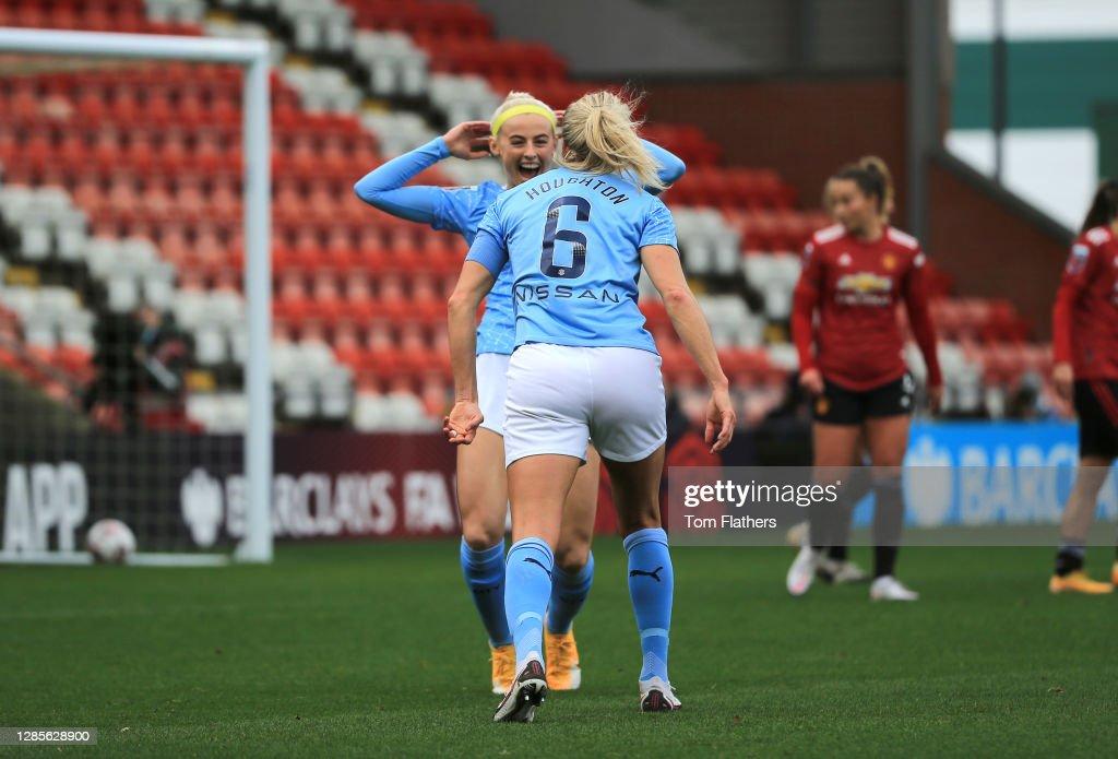 Manchester United Women v Manchester City Women - Barclays FA Women's Super League : News Photo
