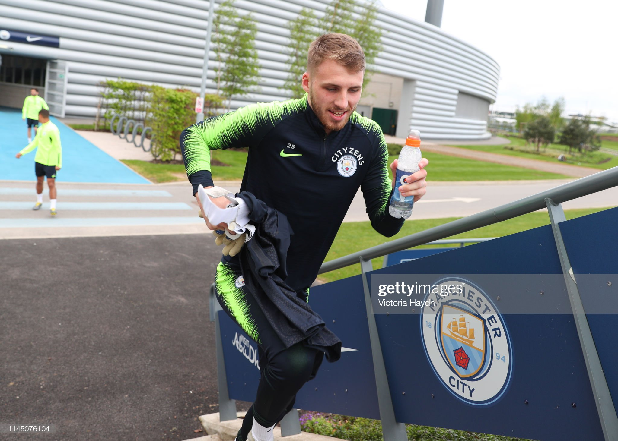 Manchester City Training Session : ニュース写真