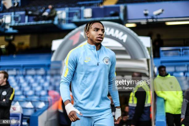 Manchester City's Demeaco Duhaney ahead of the FA Youth Cup Final