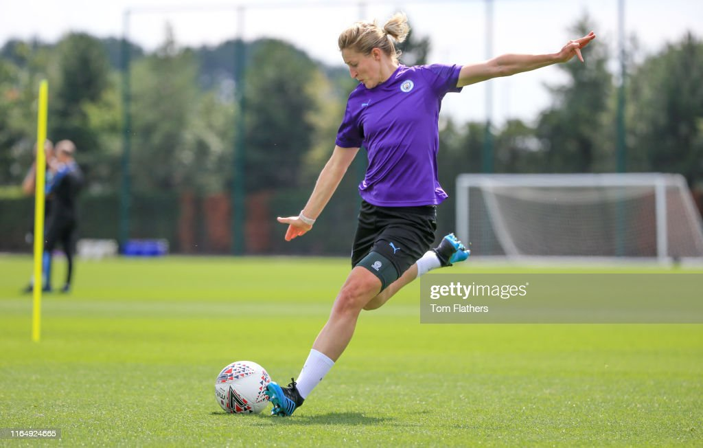 Manchester City Women Pre-Season Training : News Photo