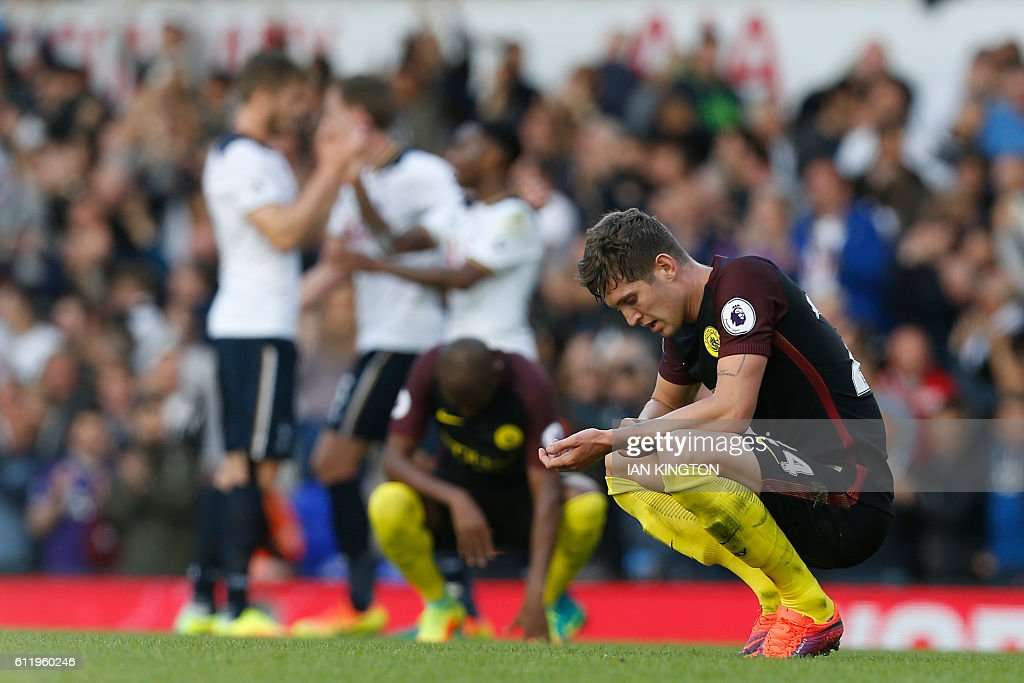 FBL-ENG-PR-TOTTENHAM-MAN CITY : News Photo