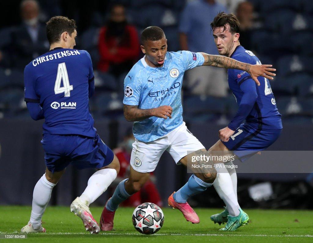 Manchester City v Chelsea - UEFA Champions League - Final - Estadio do Dragao : Fotografía de noticias