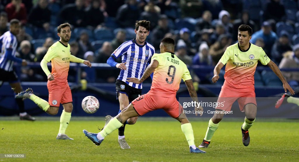 Sheffield Wednesday v Manchester City - FA Cup Fifth Round : News Photo
