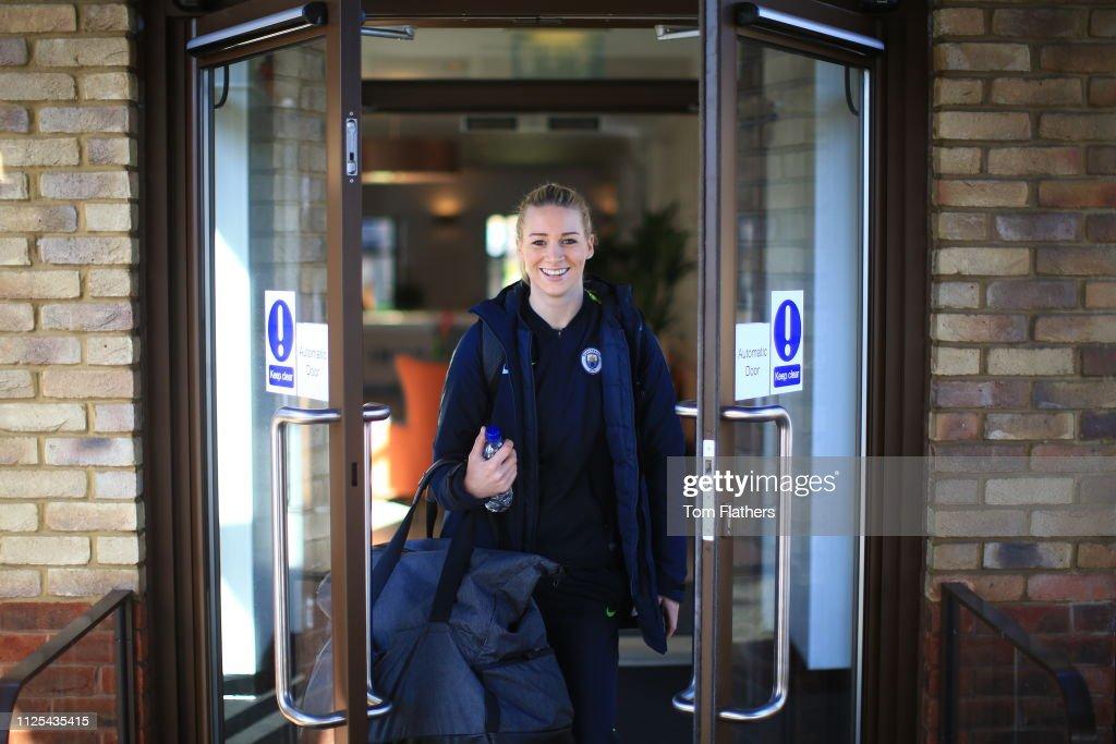 GBR: Tottenham Hotspur Ladies v Manchester City Women: SSE Women's FA Cup