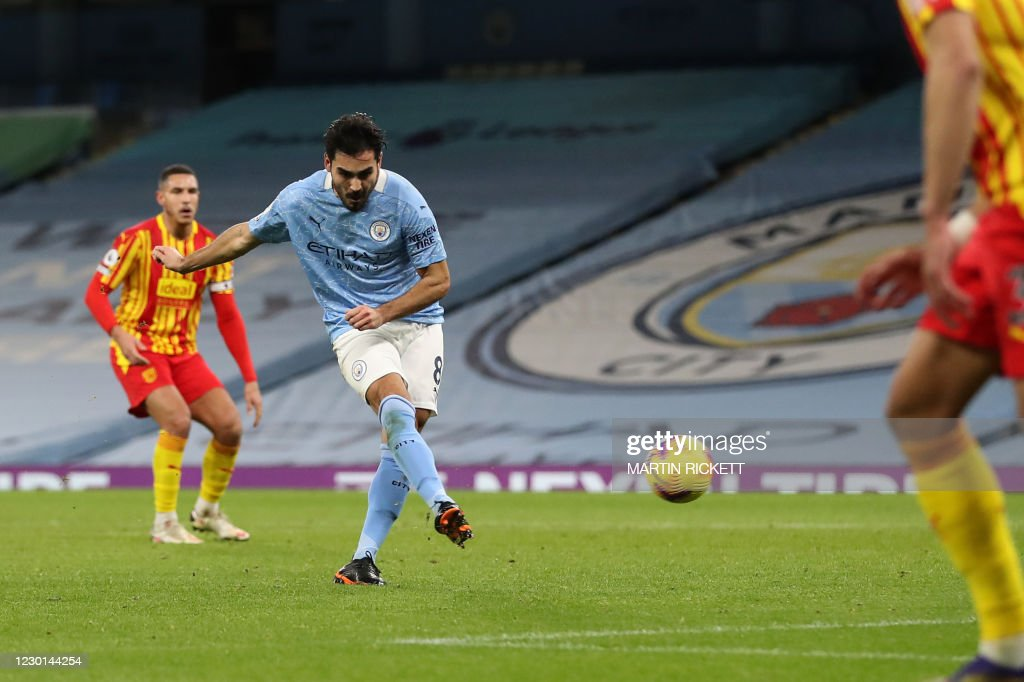 FBL-ENG-PR-MAN CITY-WEST BROM : News Photo