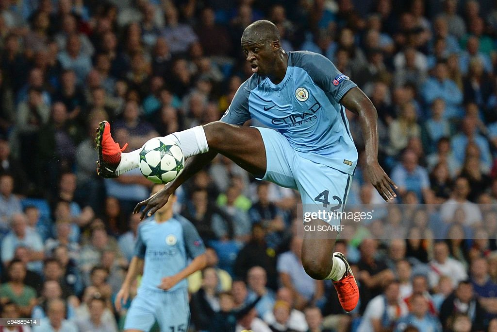 FBL-EUR-C1-MAN CITY-STEAUA BUCHAREST : News Photo
