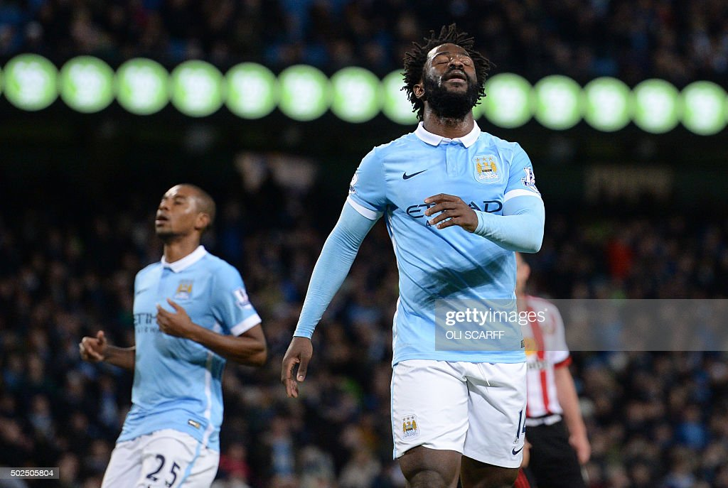 FBL-ENG-PR-MAN CITY-SUNDERLAND : News Photo