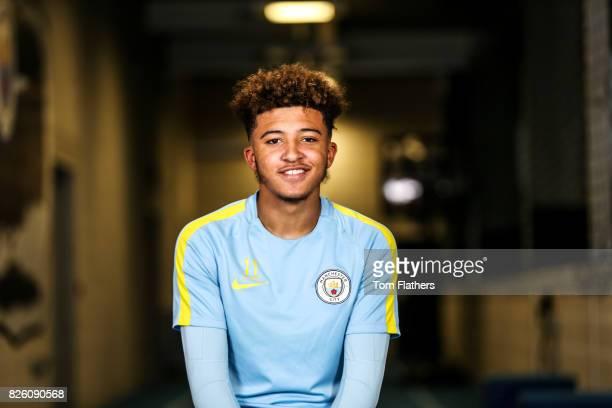 Manchester City's Jadon Sancho