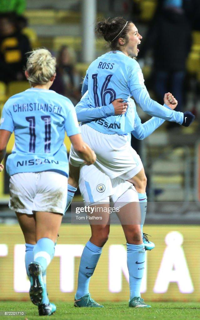 LSK Kvinner v Manchester City Women - UEFA Women's Champions League : News Photo